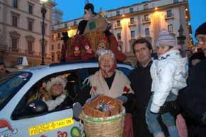 La Befana in Piazza della Repubblica