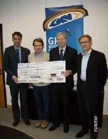 Azienda GKN consegna un contributo alla Fondazione