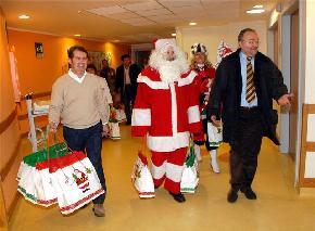 Natale al Meyer con l'Assessore Cioni 2007
