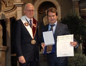 Premio Europeo Lorenzo il Magnifico a Paolo Bacciotti