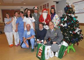 Natale al Meyer con la Guardia di Finanza 2009 – X Anniversario dalla scomparsa di Tommasino