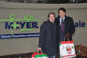 Natale al Meyer con Matteo Renzi 2009