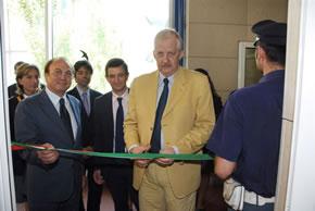 Inaugurazione posto di Polizia al Meyer