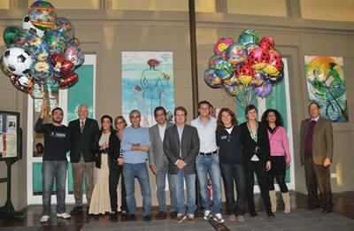 Inaugurazione ufficiale di tre quadri dell'artista Anna Cecchetti