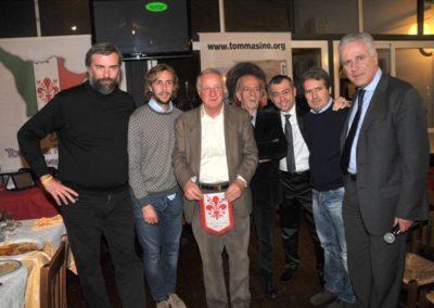 Consegna della 2° edizione del Premio Toscana Football Team al capitano della Fiorentina Marco Donadel