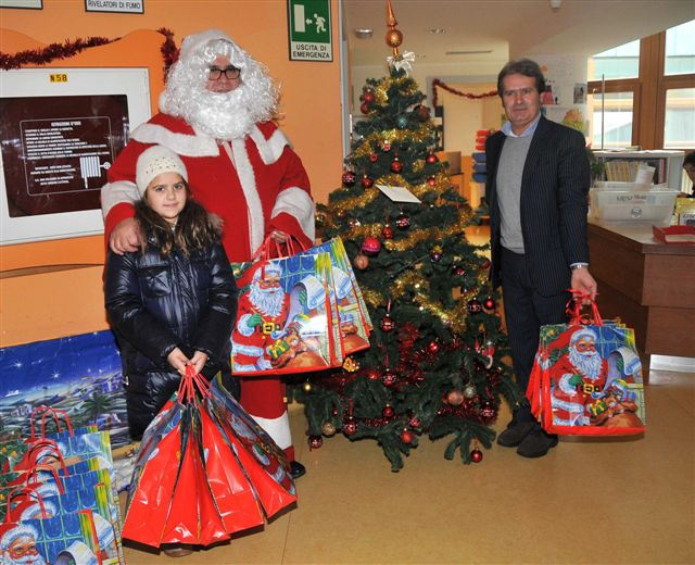 Natale al Meyer con Pantaleo Corvino 2010