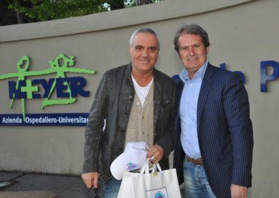 Giorgio Panariello all'Ospedale Meyer per Tommasino