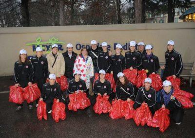 In visita al Meyer con la squadra di calcio femminile Firenze Primadonna