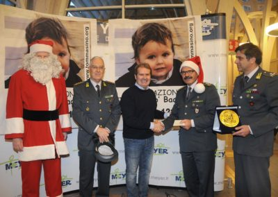 Natale al Meyer con la Guardia di Finanza 2012