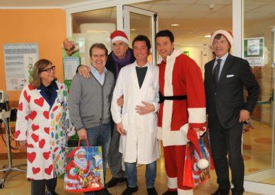 Natale al Meyer con il Sindaco Renzi 2012
