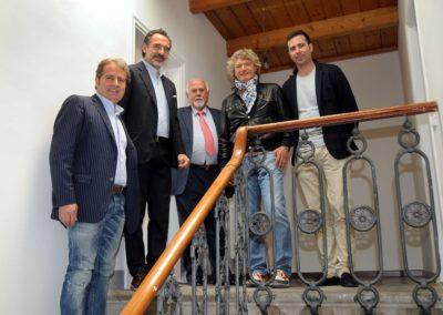 Cesare Prandelli alle nuove Case Accoglienza