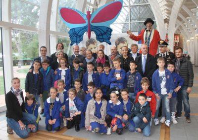 Inaugurazione 'Farfalla per Tommasino' all'Ospedale Meyer