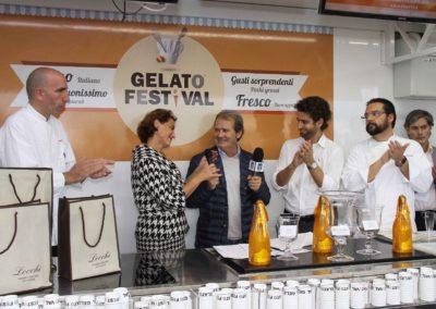 Finale Europea Gelato Festival al Piazzale Michelangelo