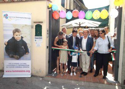Inaugurazione 16^ Casa Tommasino Via Collodi