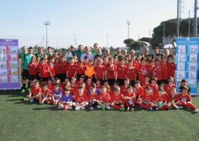 Scuola calcio Settignanese con Publiacqua