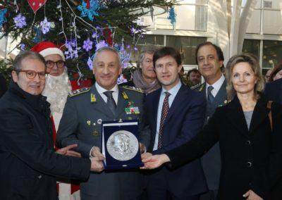 Natale al Meyer con la Guardia di Finanza 2016