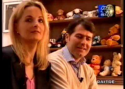 Intervista a Barbara e Paolo Bacciotti – Rai Tre – Così va il mondo