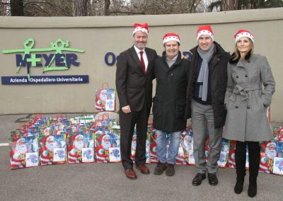 Natale al Meyer con il Sindaco Dario Nardella 2014