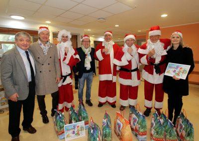 Natale al Meyer con i Babbi Natale 2017
