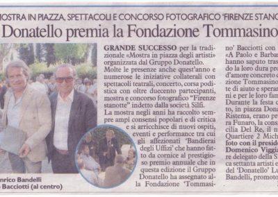 Gruppo Donatello premia la Fondazione
