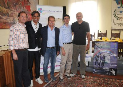 Conferenza stampa concerto Dirotta su Cuba