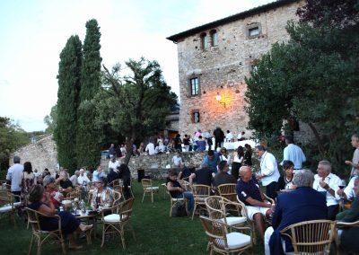 Cena di beneficenza al Castello di Ama 2017