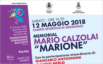 12 maggio – Memorial Mario Calzolai