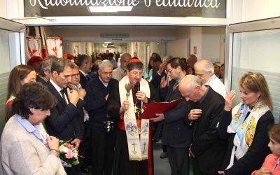 Inaugurazione Reparto di riabilitazione pediatrica presso Don Gnocchi Firenze