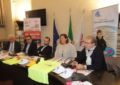 Conferenza stampa XXXIII Tommasino Run