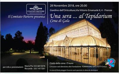 28 novembre – Una sera… al Tepidarium