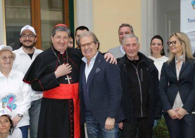 Visita del Vescovo alle Case Accoglienza