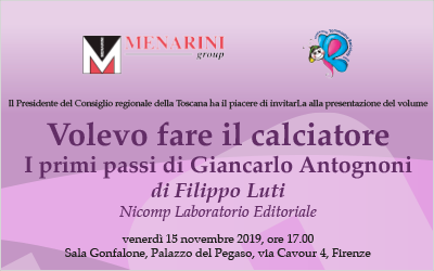 15 novembre – Presentazione nuovo libro Antognoni