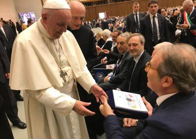 Udienza dal Papa Francesco