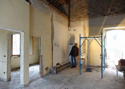 Ristrutturazione Lungarno Ferrucci 49