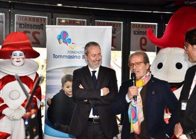 Carnevale di Viareggio 2020 con Tommasino