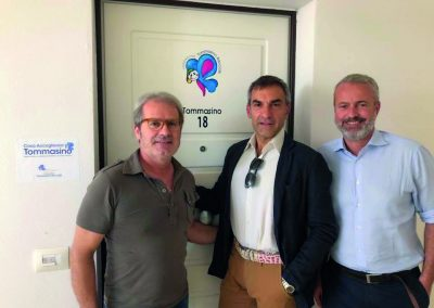Visita Case Accoglienza con Prof. Morabito