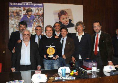 Presentazione libro Giancarlo Antognoni 2014