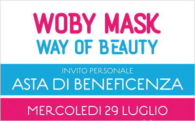EVENTO RIMANDATO – Woby Mask Asta di beneficenza