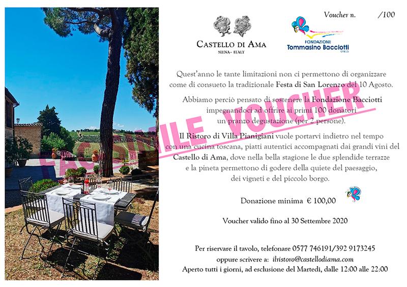 Castello di Ama – Festa di San Lorenzo 2020