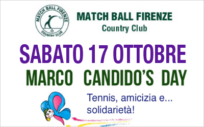 17 ottobre 2020 – Marco Candido's Day