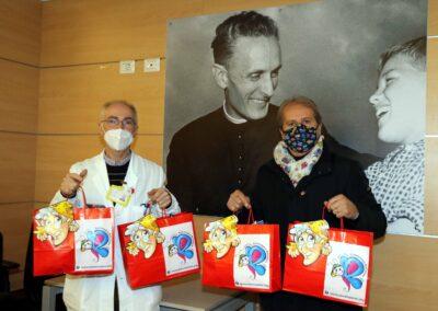 Befana al Don Gnocchi 2021